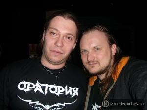 Я с Дмитрием Процко